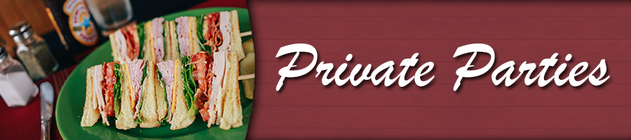 Private Parties Banner